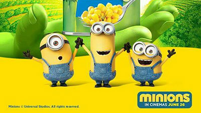 Minions and Green Giant